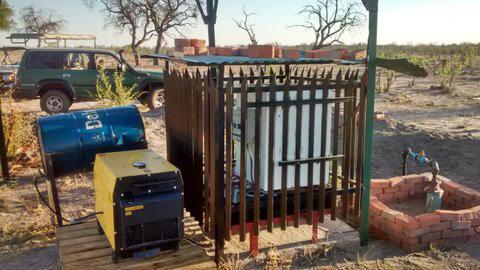 Generator Brunnenbau